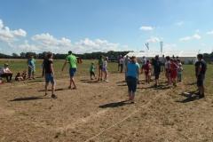 Völkerball Jugend vs. Betreuer